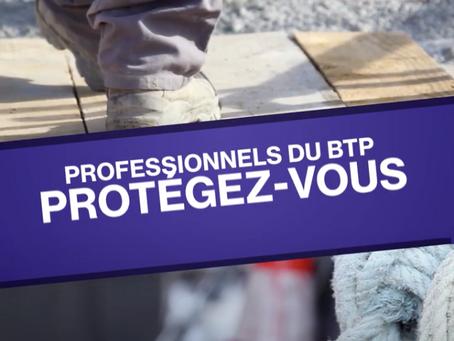 L'OPPBTP met en ligne des vidéos de prévention pour se protéger du coronavirus sur les chantiers