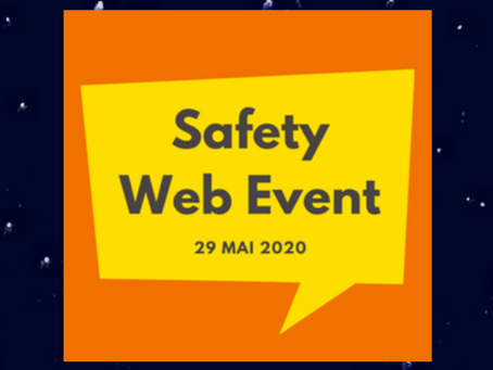 Retour sur le Safety Web Event 2020