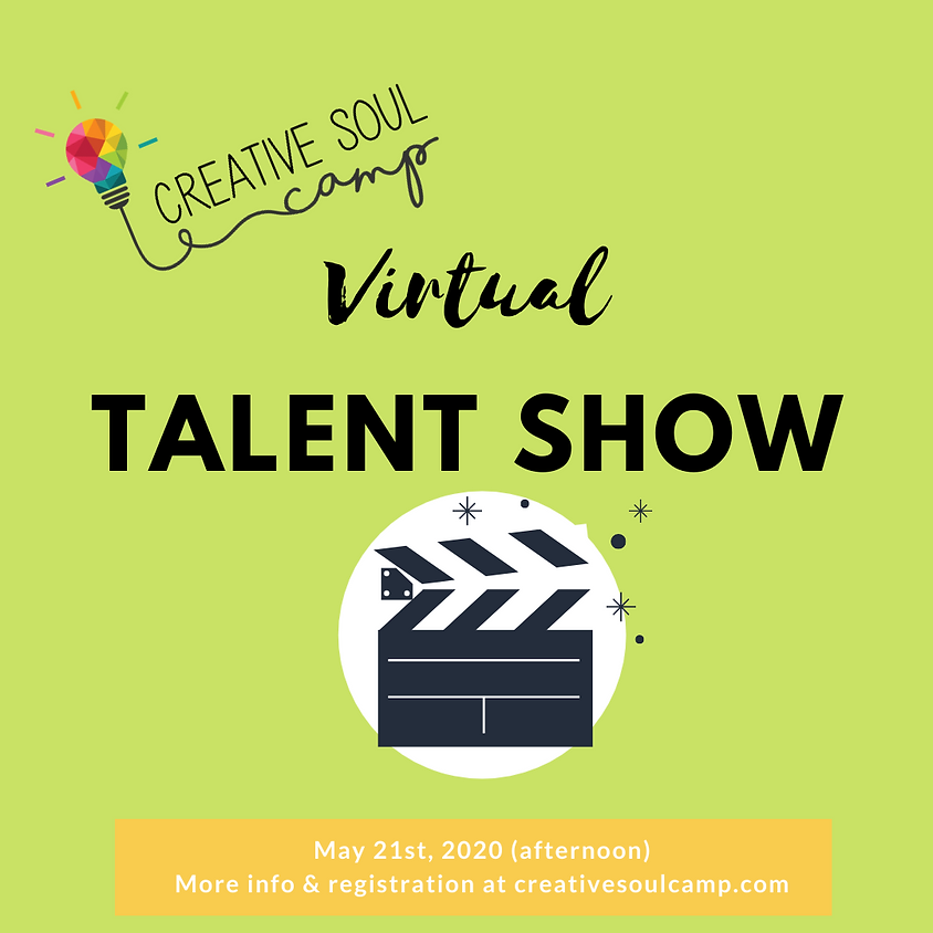 Kids Talent Show with Creative Soul Camp - Online!
