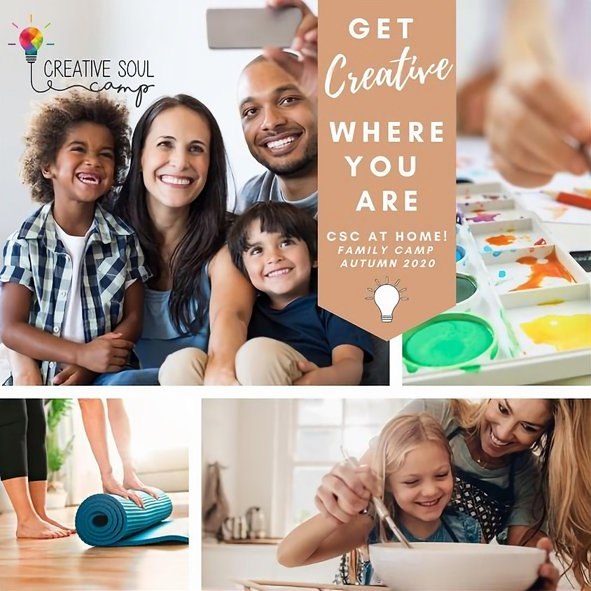 CSC At Home: Virtual Family Camp! Jan 10th!