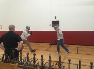 "Italian Dueling Fencing - short report on the seminar at ""En Guarde Academy"" in Santa Rosa"