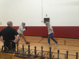"Italian Dueling Fencing - short report on the seminar at ""En Guarde Academy"" in Santa Rosa"