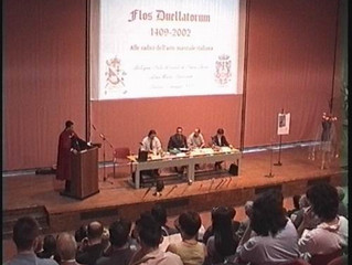 "Presentation Book ""Flos Duellatorum 1409 - 2002 / the root of Italian Martial Arts"""
