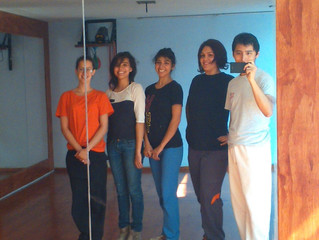 New stick fighting woman team in Mexico City