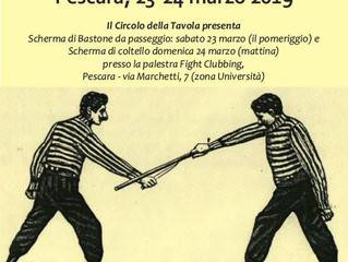 Scherma di Bastone da Passeggio - Pescara - Italy - March 23/24 2019