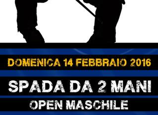 FIS - TWO HANDED SWORD -              MEN OPEN TOURNAMENT - Verona - Italy