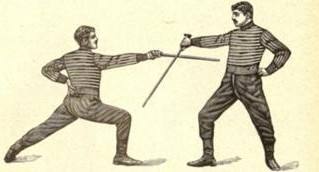 Italian Stick Fencing Seminar @ San Rafael - California