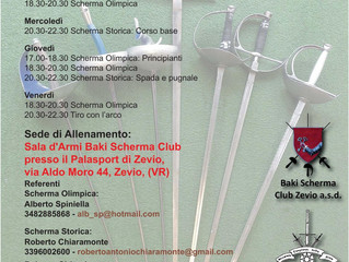 Historical Sword Fencing Tournaments Calendar - Season 2015-2016
