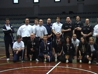 Memories: First Nova Scrimia National Stick Fencing Tournaments in 2003 - Masters and Athletes