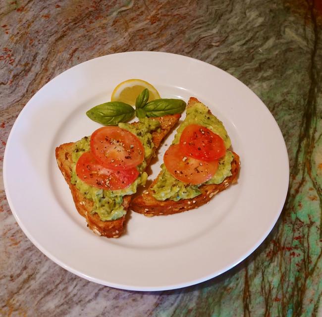 Pesto Avocado Toast