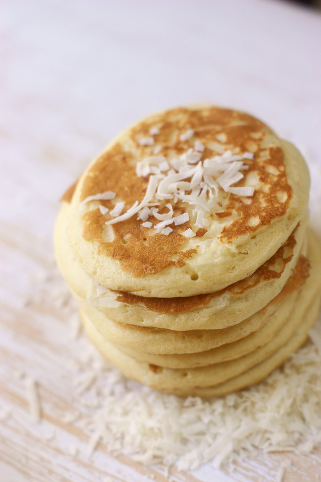 In the Marley Kitchen: Coco'Mon Coconut Pancakes (Vegan & Gluten Free)
