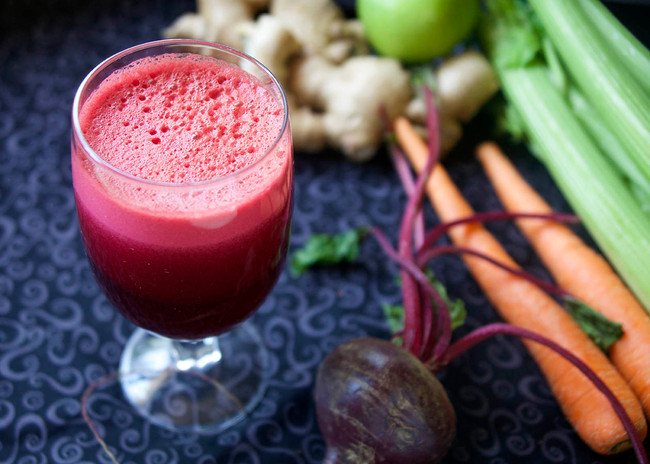 In The Marley Kitchen: Just Beet It Juice