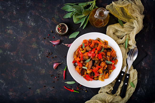 Spicy Eggplant Stew