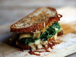 In The Marley Kitchen: Spinach and Artichoke Grilled Cheese Sandwiches