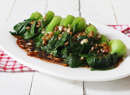 Spicy Garlic Pop Chow(Bok Choy)