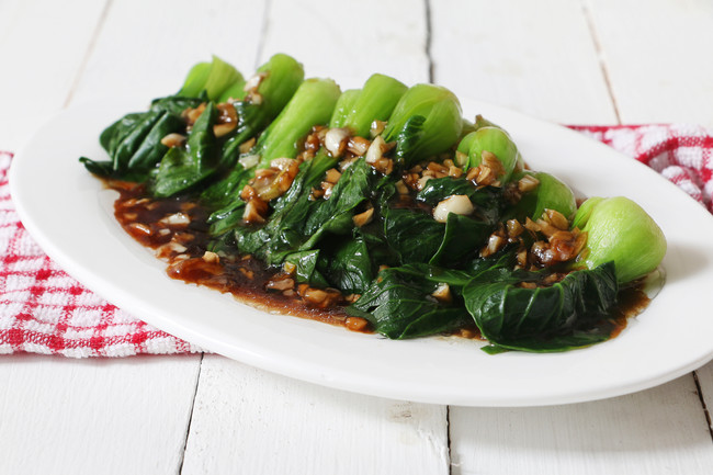Spicy Garlic Pop Chow(Bok Choy)