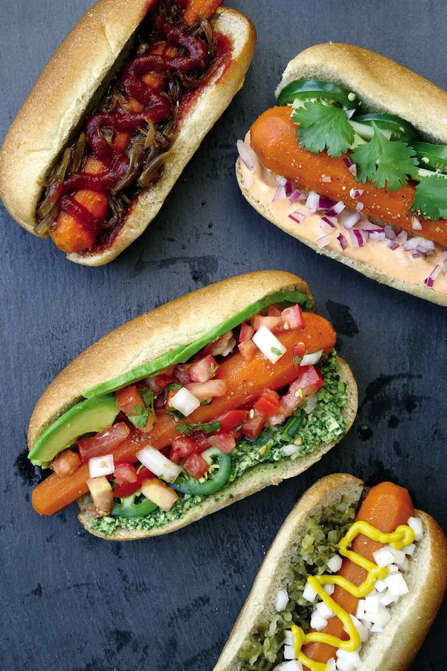 "In The Marley Kitchen: Vegan Carrot ""Hot Dogs"""