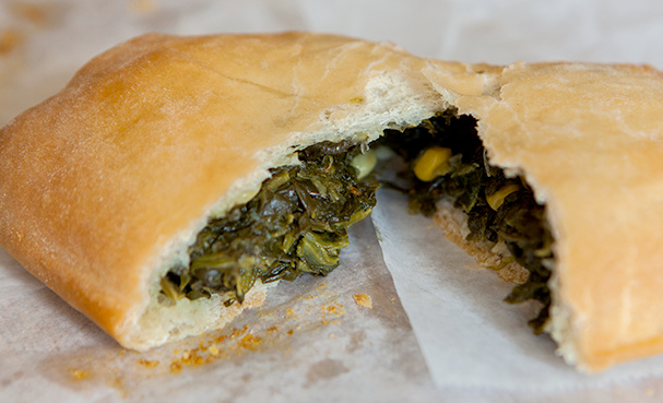 In The Marley Kitchen: Callaloo Cheddar Loaf