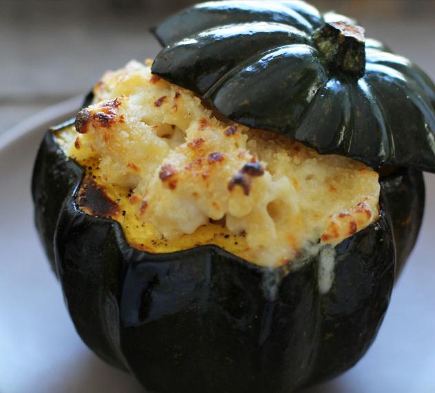 In The Marley Kitchen: Mac and Cheese Stuffed Acorn Squash