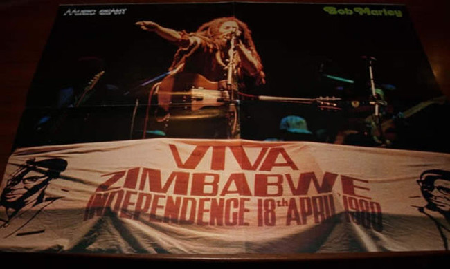 Bob Marley Performs for Zimbabwe Independence 1980