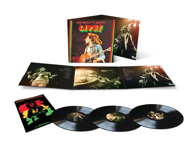 Exclusive New Release of Expanded Three-LP/Digital Version of Bob Marley & The Wailers - LIVE!
