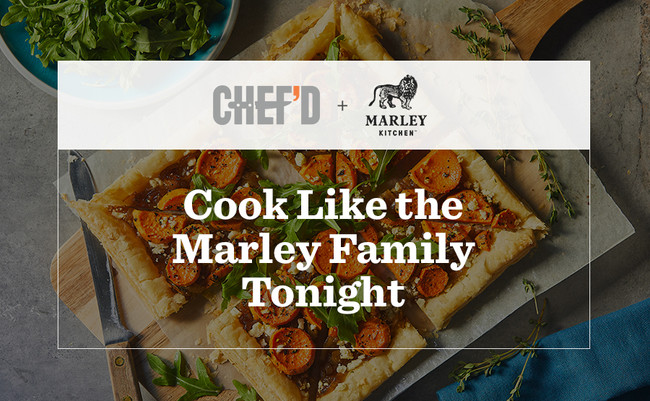 Marley Kitchen Partners With Chef'd To Celebrate One Love Of Food
