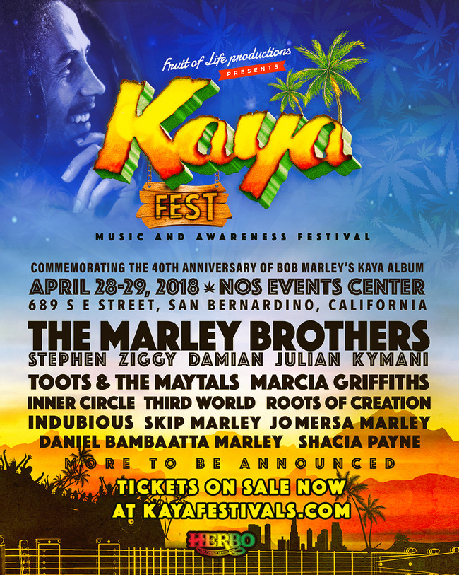 Kaya Fest April 28-29, 2018 San Bernardino California