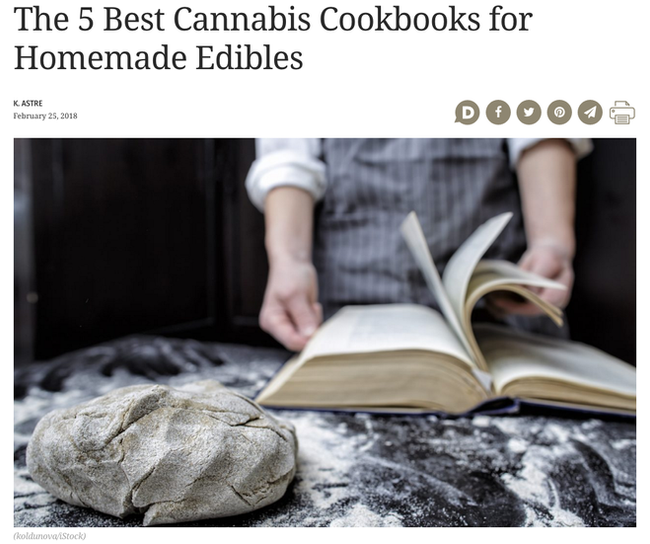 The 5 Best Cannabis Cookbooks for Homemade Edibles