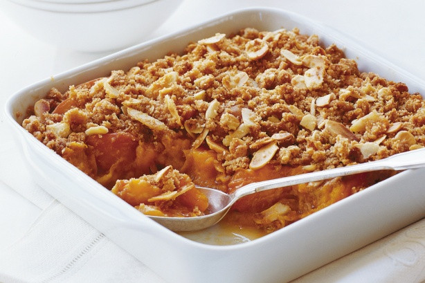 In The Marley Kitchen: Honey Almond Apple Crumble