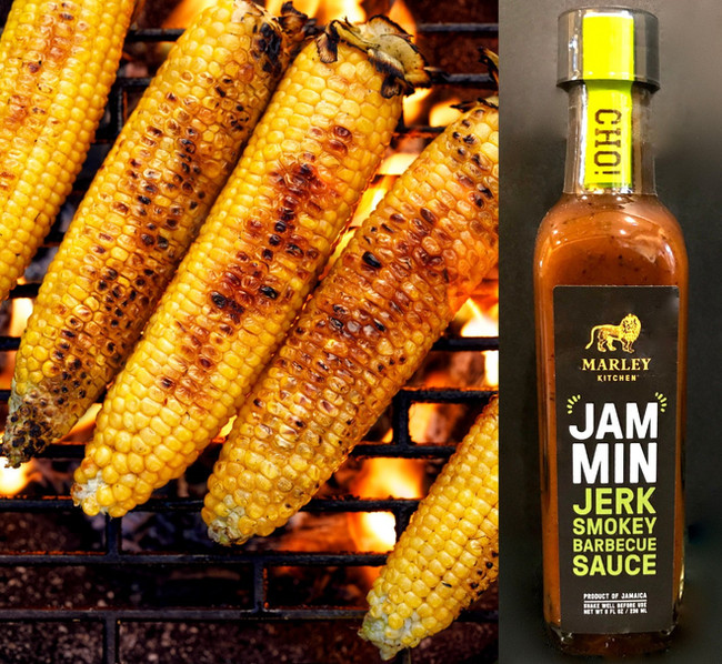 Jammin Jerk Smoky Bbq Roast Corn