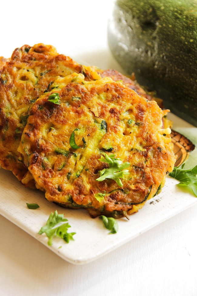 Curried Veggie Fritters