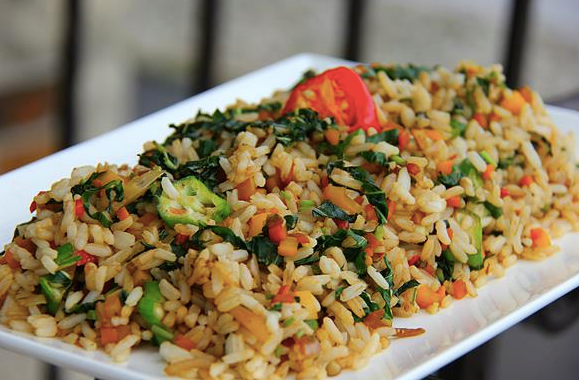 In The Marley Kitchen: Callaloo Fried Rice