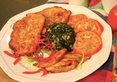 In The Marley Kitchen: Ackee Fritters