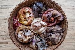 my snailing scarves