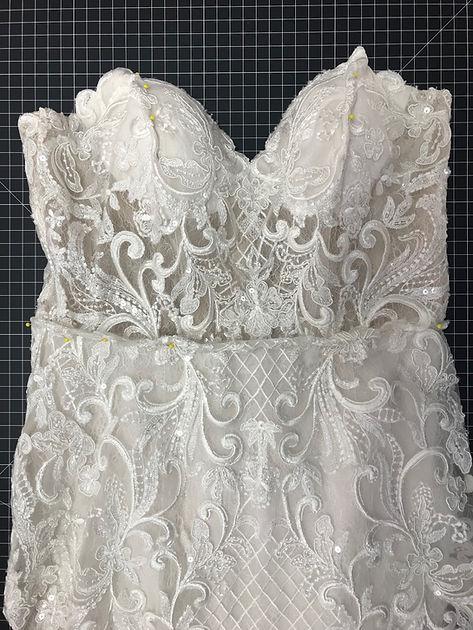 bridal wedding dress gown alterations