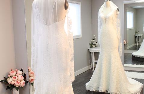 wedding dress custom design