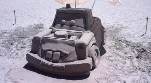 Sculpture-sable-sand-sculpture-lozza-cars