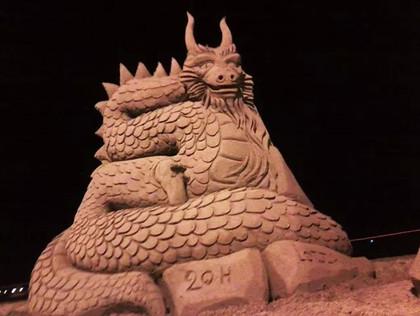 Sculpture-sable-sand-sculpture-lozza-dragon