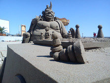Sculpture-sable-sand-sculpture-lozza-monstre-monster