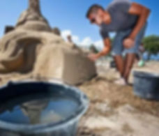 Sculpture sable, sand sculpture, sand art, sand artist, festival, centre commercial, team builiding, hotel, lozza, artwork