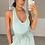 Thumbnail: APRIL Mint Premium Rib Asymmetric Bodysuit