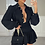 Thumbnail: KENDRA Black High Waisted Gypsy Skirt