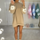 Thumbnail: MAISIE Beige Buffalo Oversized Jumper Dress