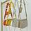 Thumbnail: BLAKE Yellow Multi Pocket Crossover Pouch Bag (SALE)