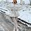 Thumbnail: AURORA Cream Teddy Panel Peplum Jacket (SALE)