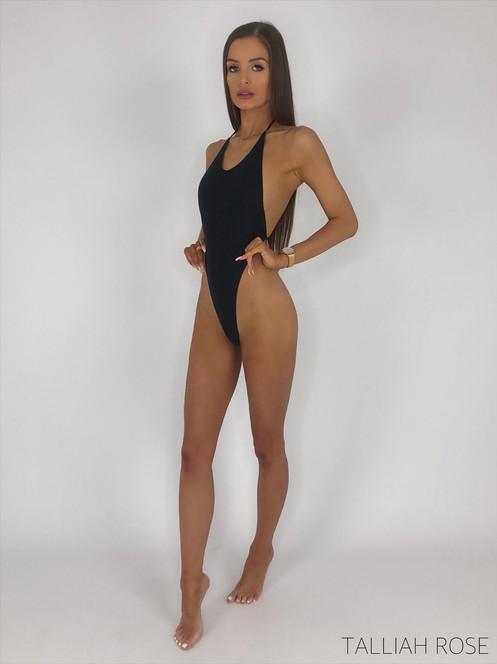 26348ecd53d20 ALICE black high rise thong swimsuit