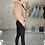 Thumbnail: LUNA Blush Faux Fur Collar Cargo Jacket (SALE)