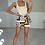 Thumbnail: REESE Beige Square Neck Knit Bodysuit (SALE)