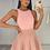 Thumbnail: PEARL Premium Dusky Pink Fluffy Skirt