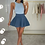 Thumbnail: PEARL Premium Midnight Blue Fluffy Skirt (SALE)